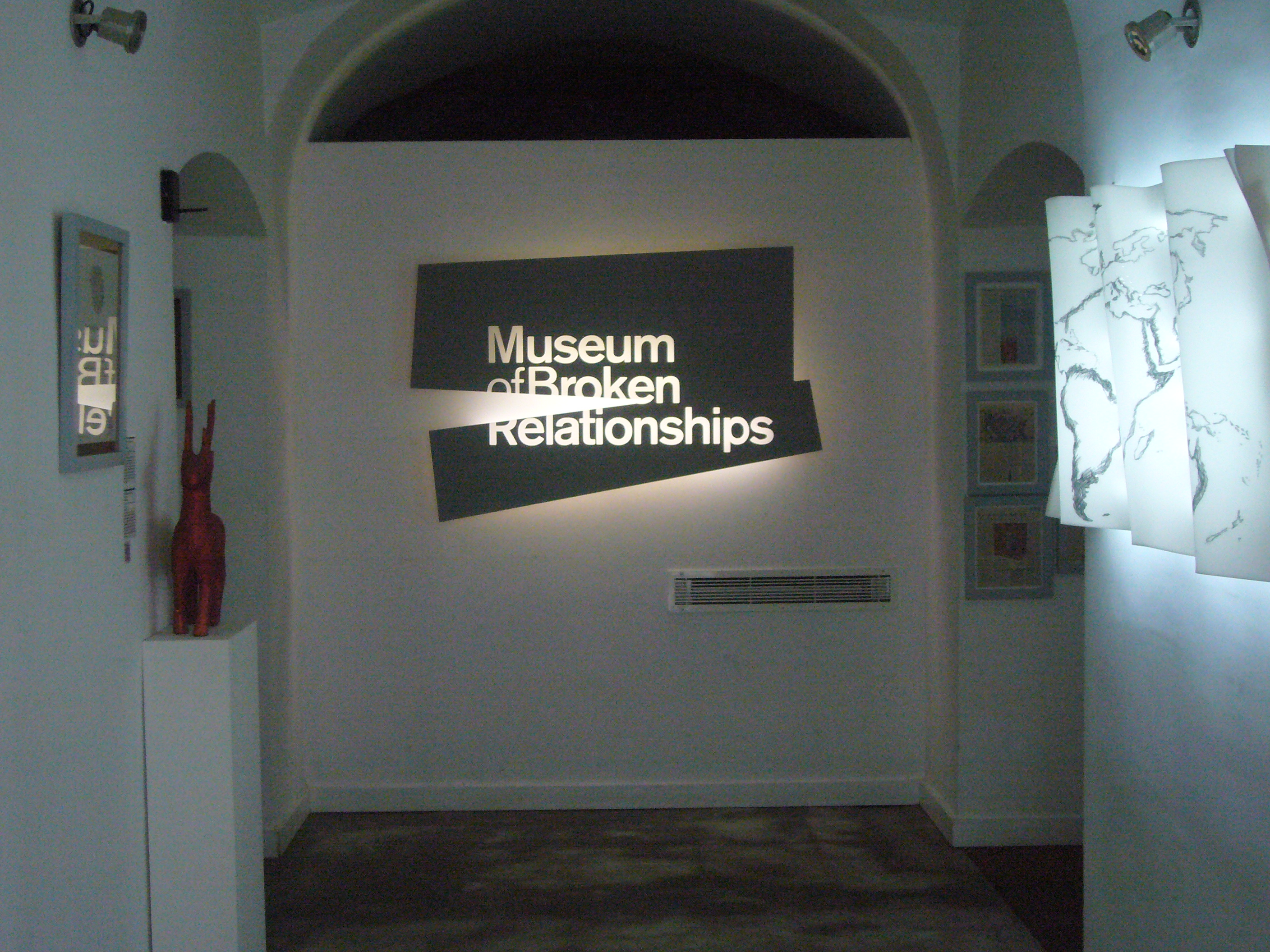 avrupa rüyası The Museum of Broken Relationships, Zagreb